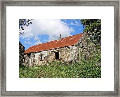 The Old Shed Framed Print