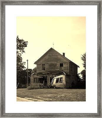 The Old Store Framed Print