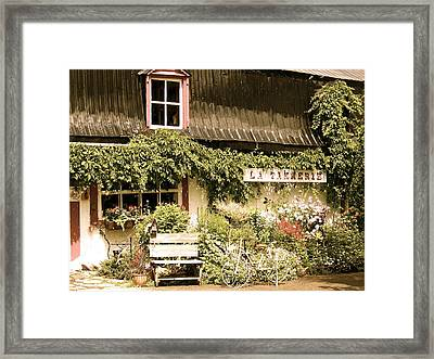Framed Print featuring the photograph The Old Tannery by Robin Regan