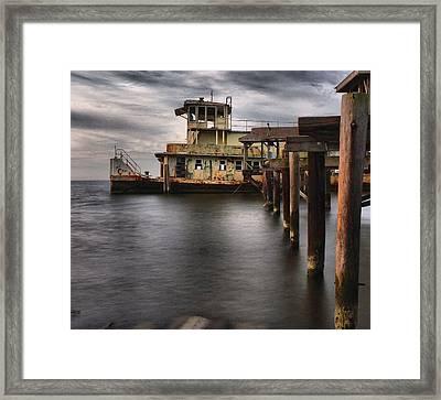 The Old Tugboat Framed Print