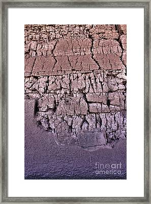 The Old Wall Framed Print by Adam Smith