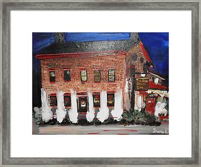 The Olde Bryan Inn Framed Print by Laurie L