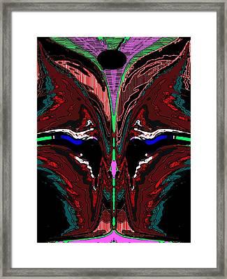 The Olive Framed Print by Tim Allen
