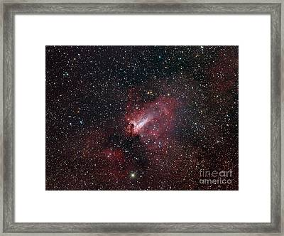 The Omega Nebula Framed Print by Filipe Alves