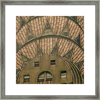The One And Only Chrysler Bldg. - New Framed Print