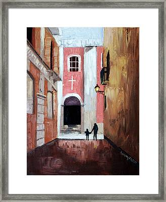 The Open Door Framed Print by Anthony Falbo