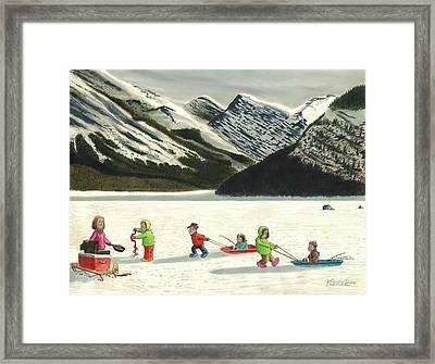 The Optimists Framed Print by Tim Koziol