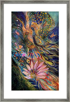 The Orange Wind Can Be Purchased Directly From Www.elenakotliarker.com Framed Print by Elena Kotliarker
