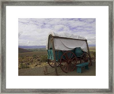 The Oregon Trail No 3 Framed Print