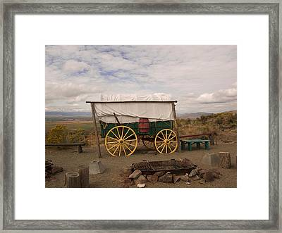 The Oregon Trail No 4 Framed Print