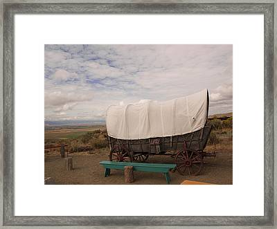The Oregon Trail No 5 Framed Print