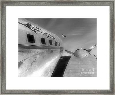 Framed Print featuring the photograph The Original Flagship by Alex Esguerra