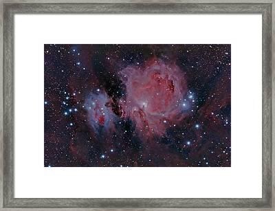 The Orion Nebula M42 Framed Print
