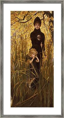The Orphan Framed Print by James Jacques Joseph Tissot
