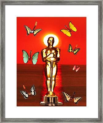 The Oscars  Framed Print