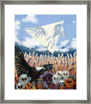 The Other Framed Print by Kyra Belan