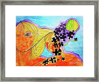 The Other Self Framed Print
