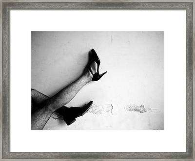 The Other Shoe 3 Framed Print