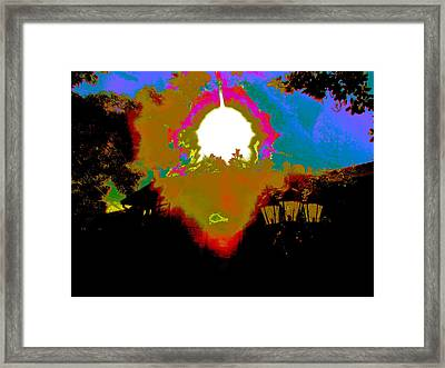The Other Side Framed Print by HollyWood Creation By linda zanini
