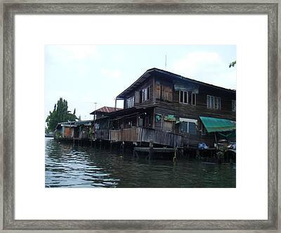 The Other Side Of Bangkok Framed Print