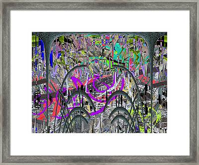 The Other Side Of The Coin Framed Print by Tim Allen