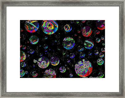 The Other Worlds Framed Print