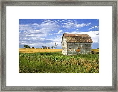 The Outcast Framed Print