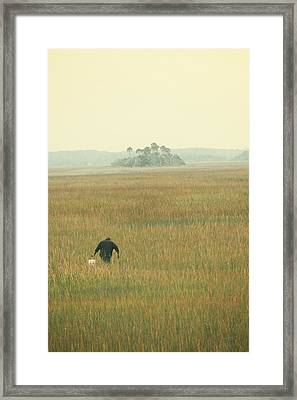 The Oysterman Framed Print