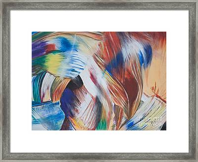 The Pace Of Life Framed Print