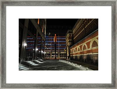 The Paint Torch Framed Print by Andrew Dinh