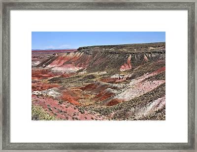 The Painted Desert 2 Framed Print