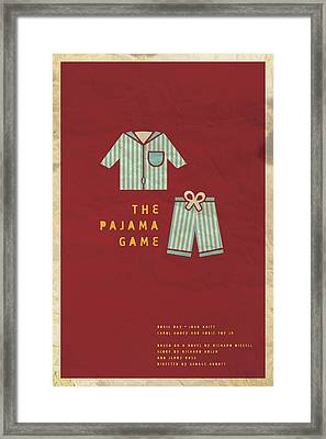The Pajama Game Framed Print