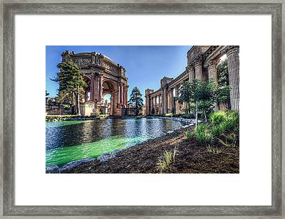 The Palace Of Fine Arts Framed Print by Everet Regal