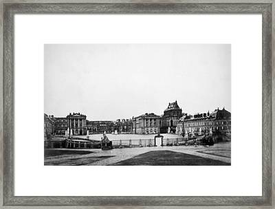 The Palace Of Versailles, C. 1880 Framed Print by Everett