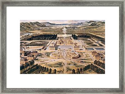 The Palace Of Versailles, France Framed Print by Everett