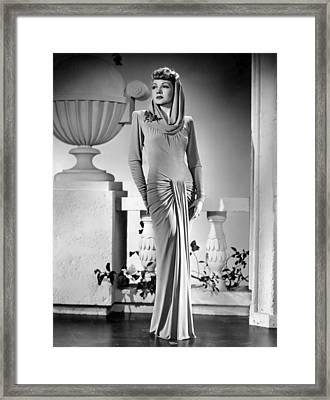 The Palm Beach Story, Claudette Framed Print