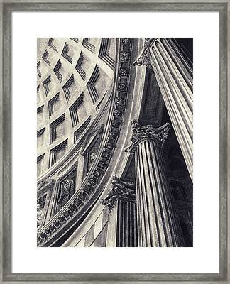 The Pantheon Framed Print by Norman Bean