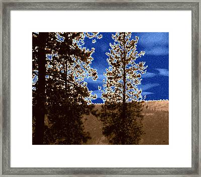 The Parched Land  Framed Print