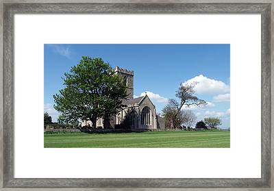 The Parish Church Of St Andrew Framed Print