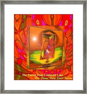 The Parrot From Conneaut Lake Memories Framed Print