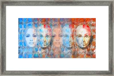 The Passage Fragment Framed Print by Andrea Ribeiro