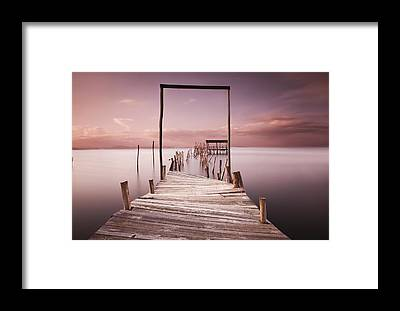 Pier Framed Prints