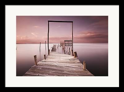 Pier Framed Prints