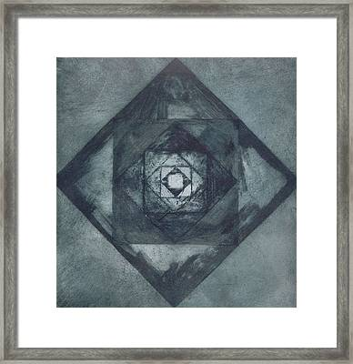 The Passionless Angle Framed Print by Rebecca Bourke