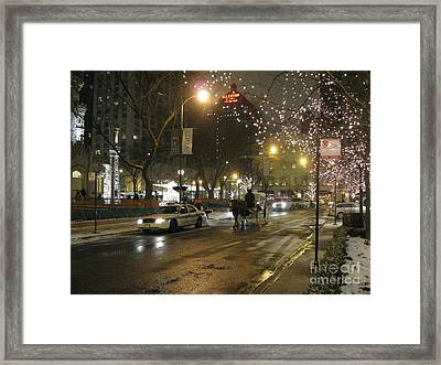 Framed Print featuring the photograph The Past Meets The Present In Chicago Il by Ausra Huntington nee Paulauskaite