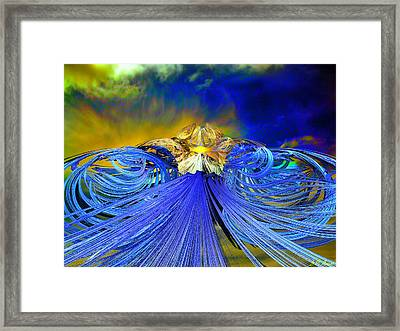 The Path Framed Print by Michael Durst