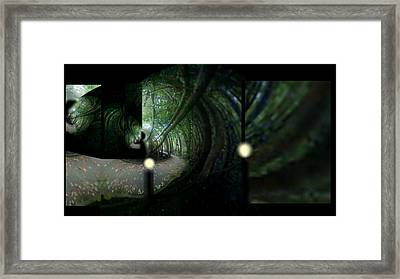 Framed Print featuring the mixed media The Path by Rc Rcd
