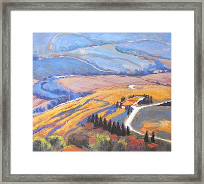 The Pathways Between Framed Print