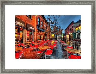 The Patio Framed Print by Andre Faubert