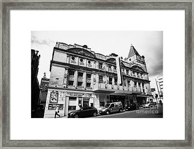 The Pavilion Theatre Scottish National Theatre Of Variety Glasgow Scotland Uk Framed Print by Joe Fox